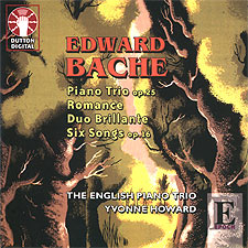 Edward Bache - English Piano Trio